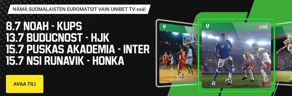 Runavik - Honka live stream 15.7.2021