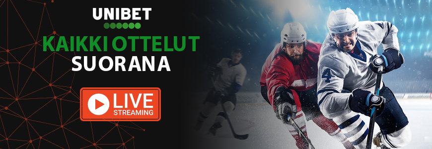 NHL kausi suorana livenä